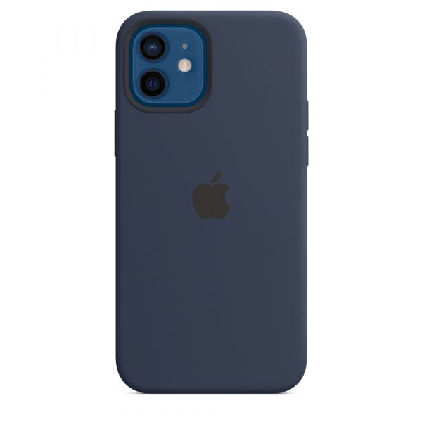 Apple iPhone 12 mini Silicone case with MagSafe - Deep Navy by KECG Tech